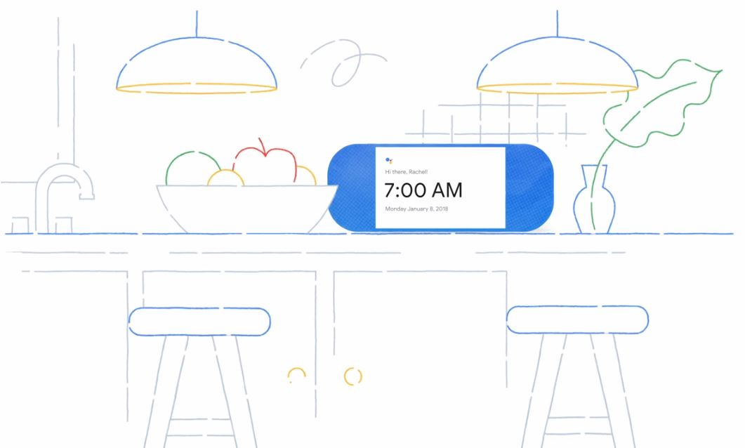 Google Assistant Smart Displays Header