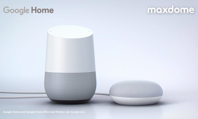ProSieben und Maxdome hören jetzt auf Google Home