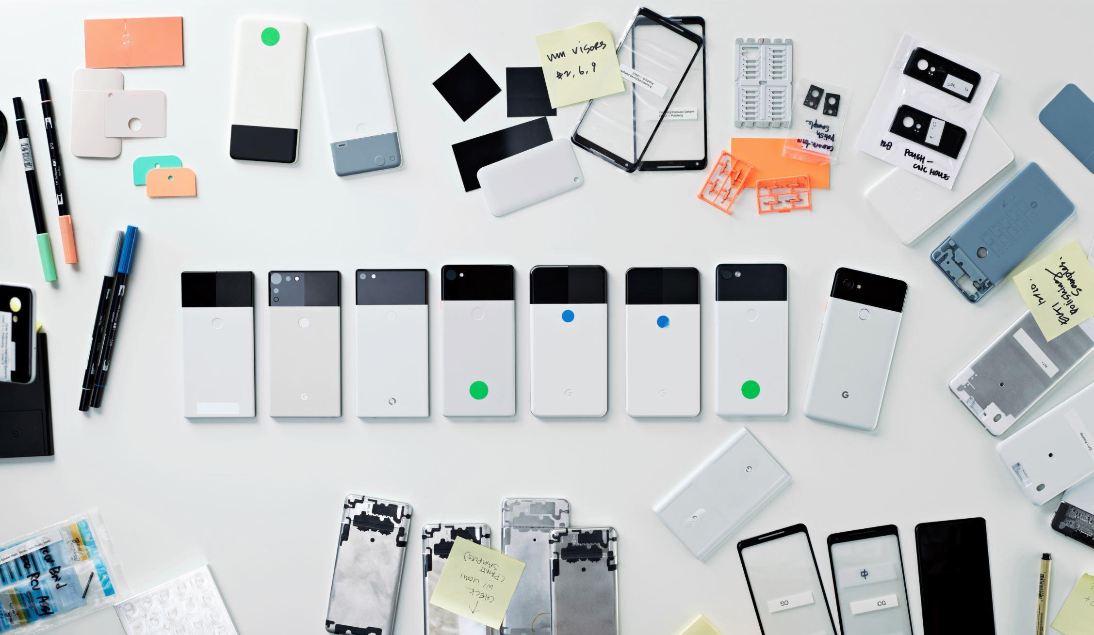Google Pixel 2 Design-Prototypen (1)