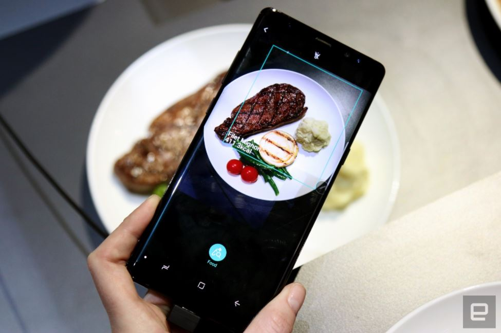 Samsung Bixby Kalorien