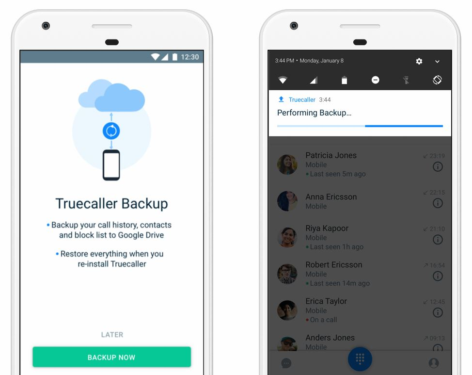 truecaller f r android telefon app bekommt backup funktion. Black Bedroom Furniture Sets. Home Design Ideas