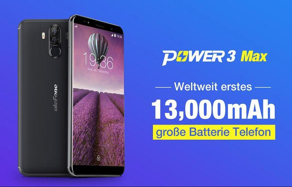 Ulefon Power 3 Max