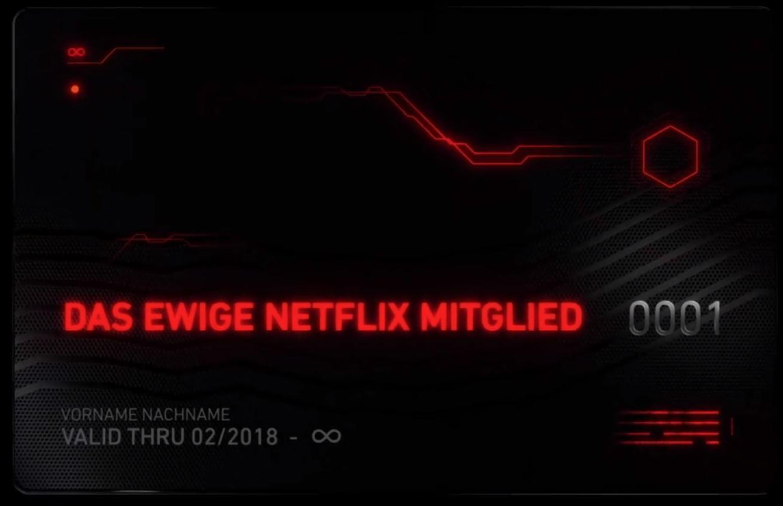 Das ewige Netflix Mitglied