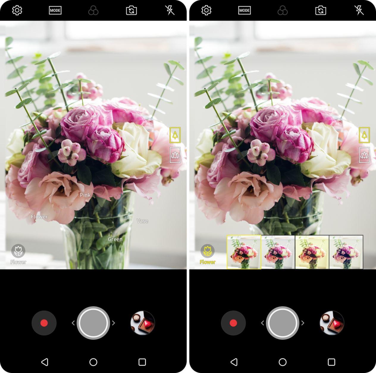 LG V30 2018 Kamera KI
