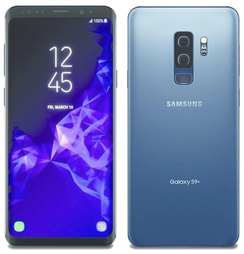 Samsung Galaxy S9 Coral Blue Leak