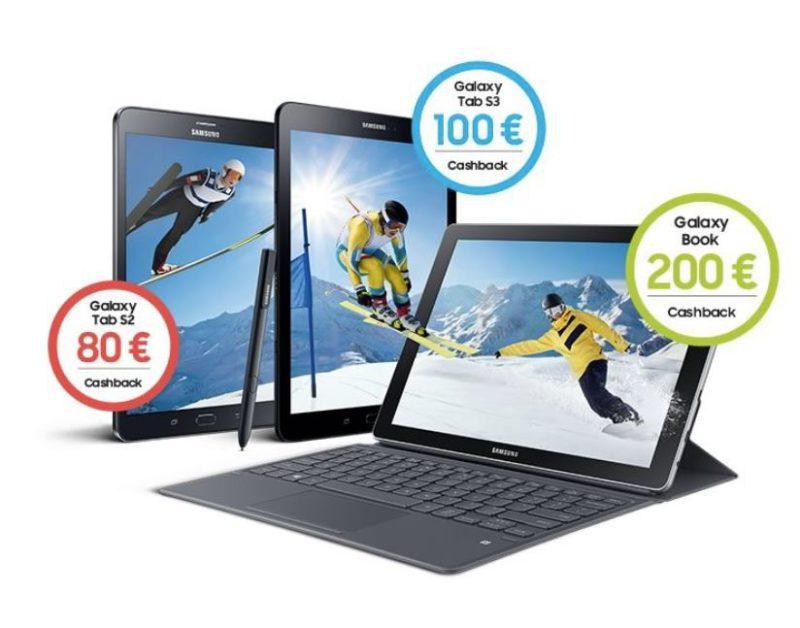 samsung mit bis zu 200 euro cashback f r android tablets. Black Bedroom Furniture Sets. Home Design Ideas