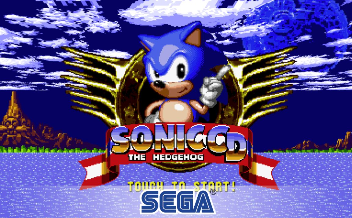 SEGA Sonic CD Classic Header