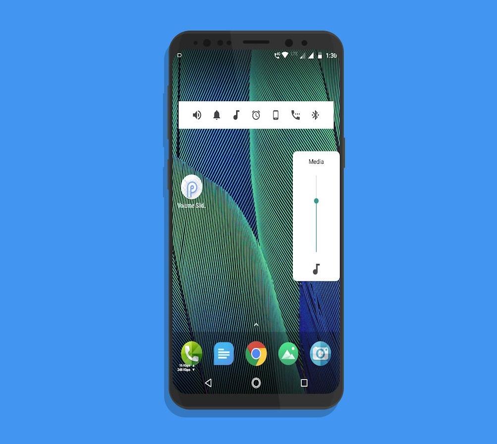 Android P Volume Slider - P Volume Control