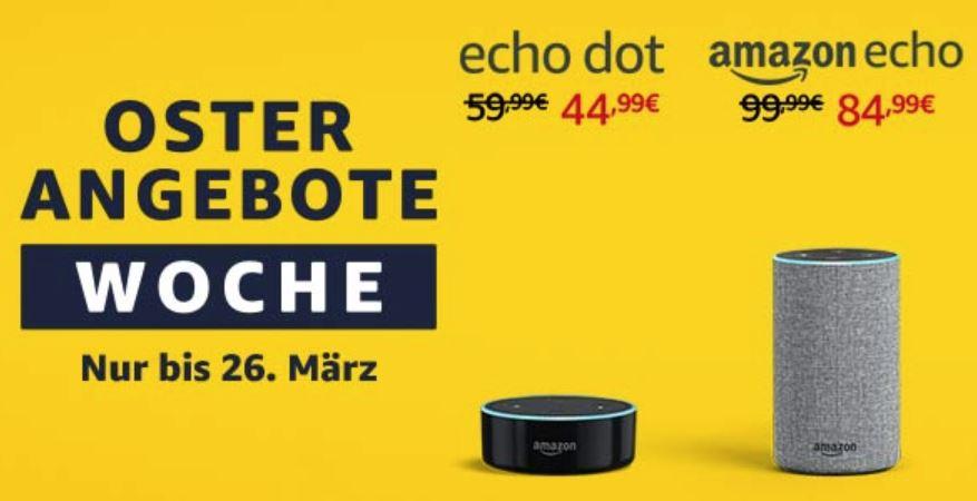 Amazon Oster-Woche mit Echo Rabatt