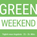 Cyberport Green Weekend März 2018