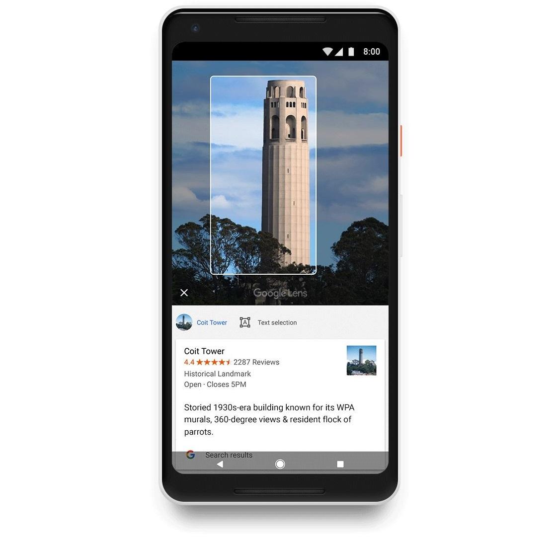Google Fotos mit Google Lens