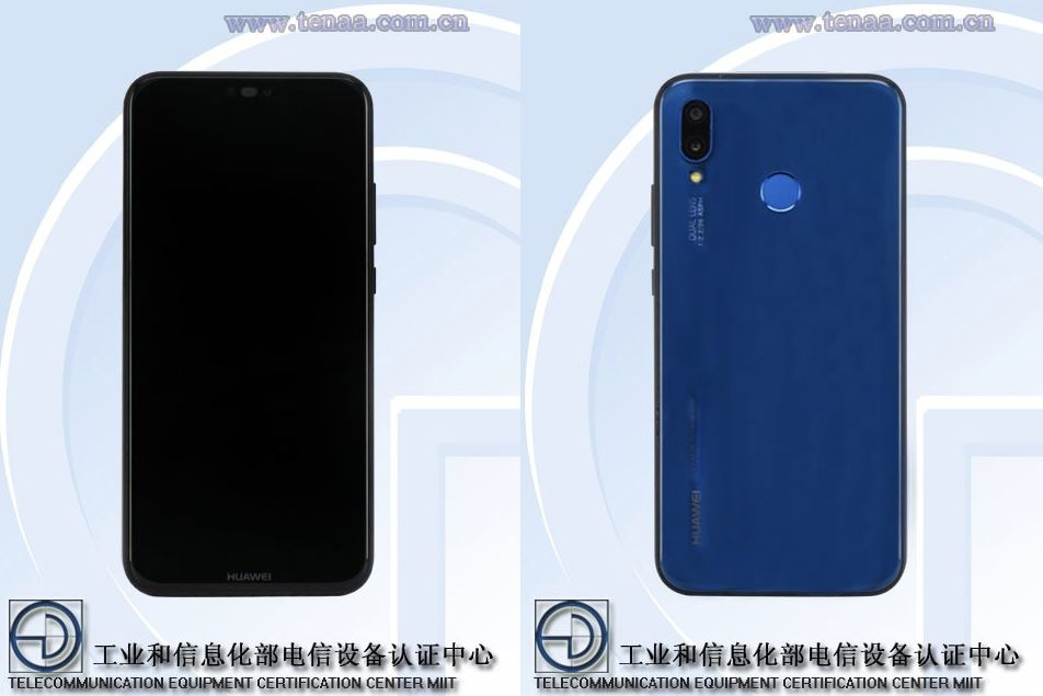Huawei P20 lite Tenaa Leak