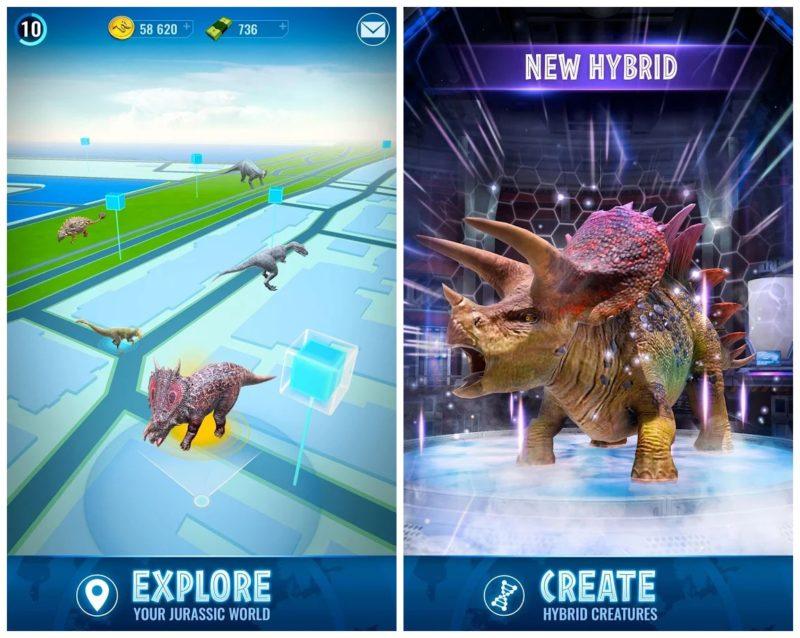 Jurassic World Alive: Dinosaurier-Jagd statt Pokémon GO