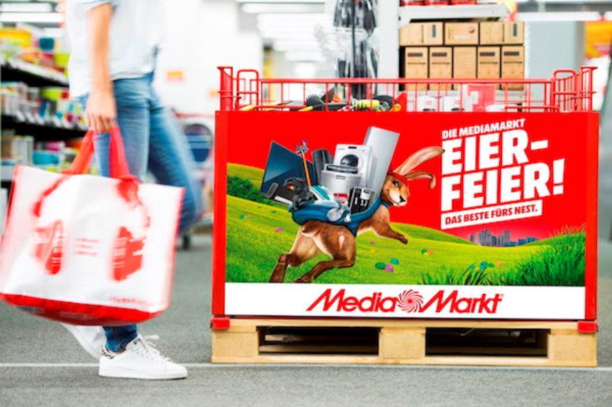 MediaMarkt Eier Feier: Ein Produkt kaufen, ein zweites