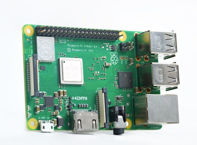 Raspberry Pi 3 Model B+ bei Farnell element14