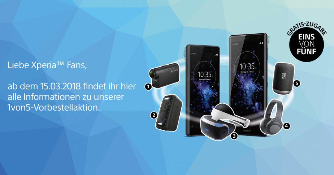 Sony Xperia XZ2 1 von 5