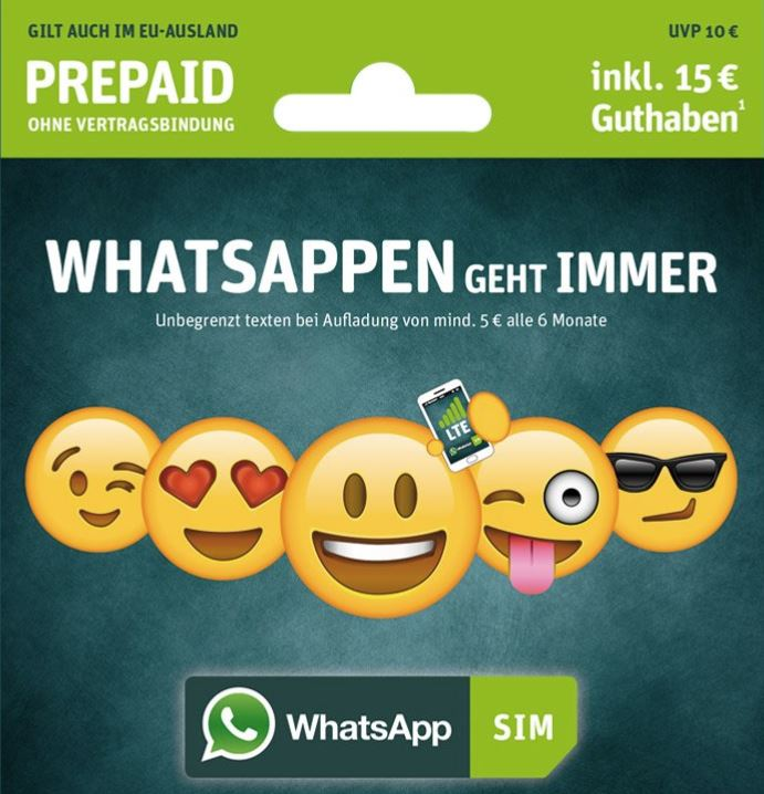 WhatsApp SIM Header
