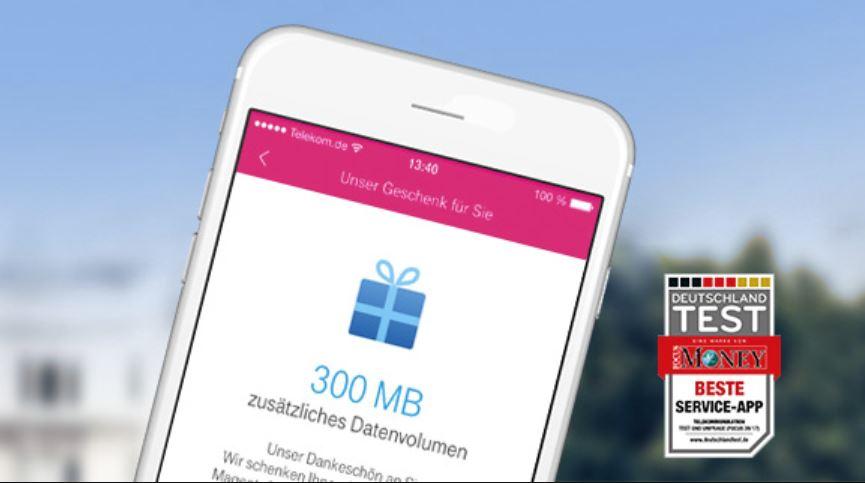 300 Megabyte Telekom