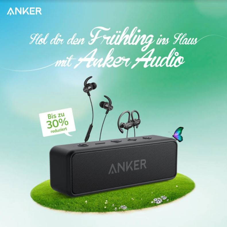 Anker Frühlings Deals April 2018