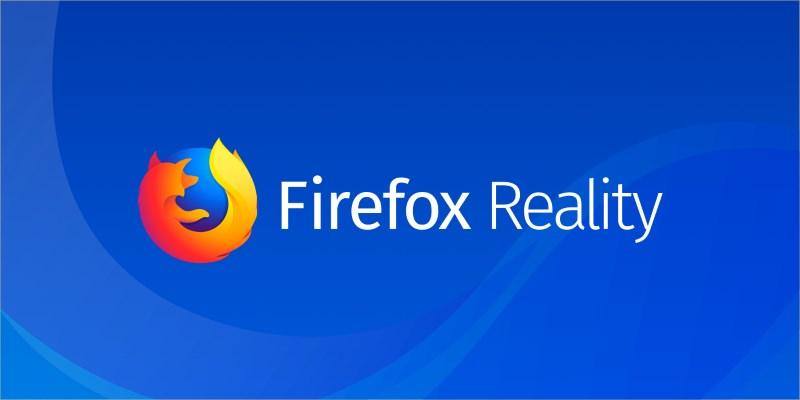 Mozilla Firefox Reality Header