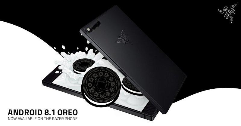 Razer Phone Android 8.1 Oreo Update Header