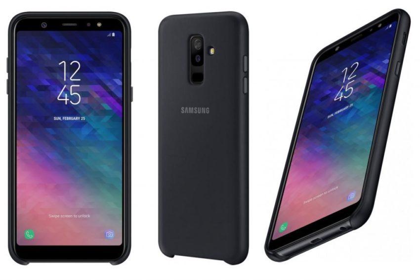 Samsung Galaxy A6 Plus Render