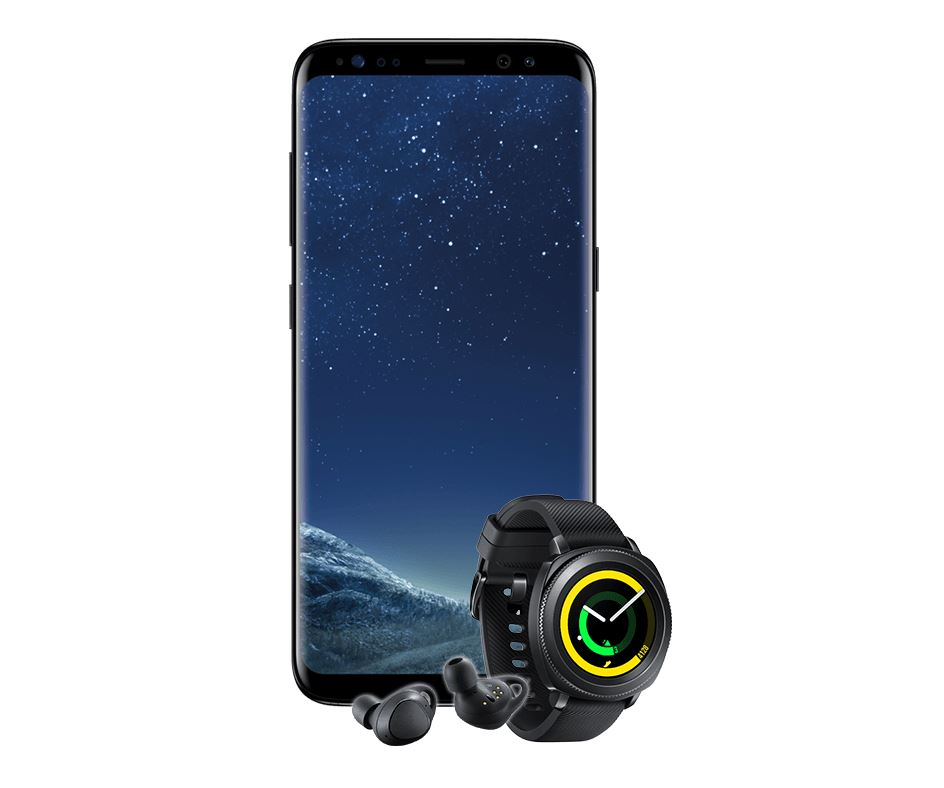 Samsung Galaxy S8, Gear IconX, Gear Sport Angebot
