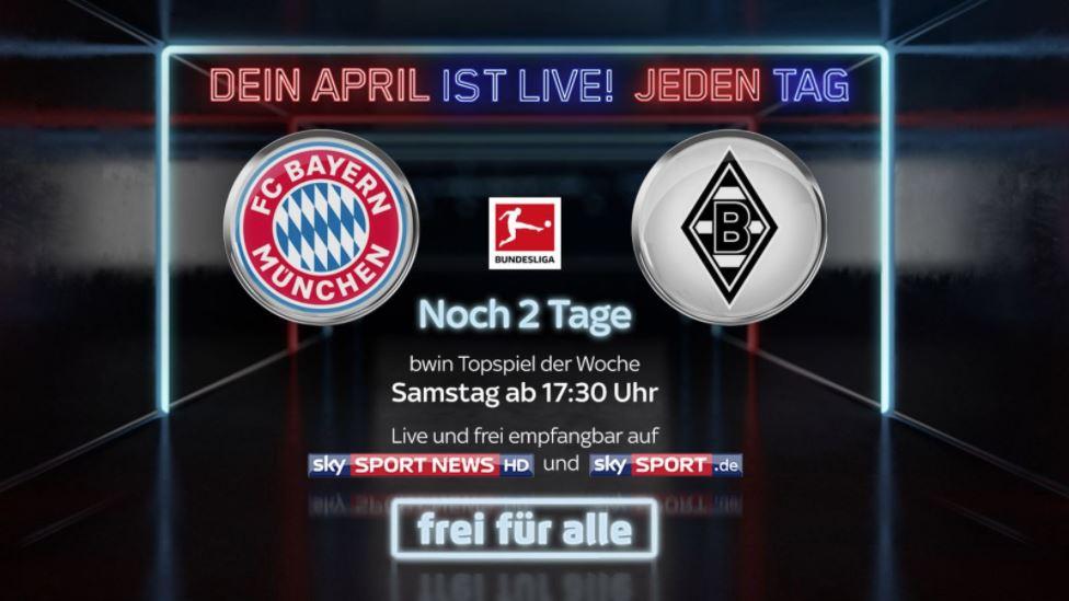 bayern gladbach live stream kostenlos