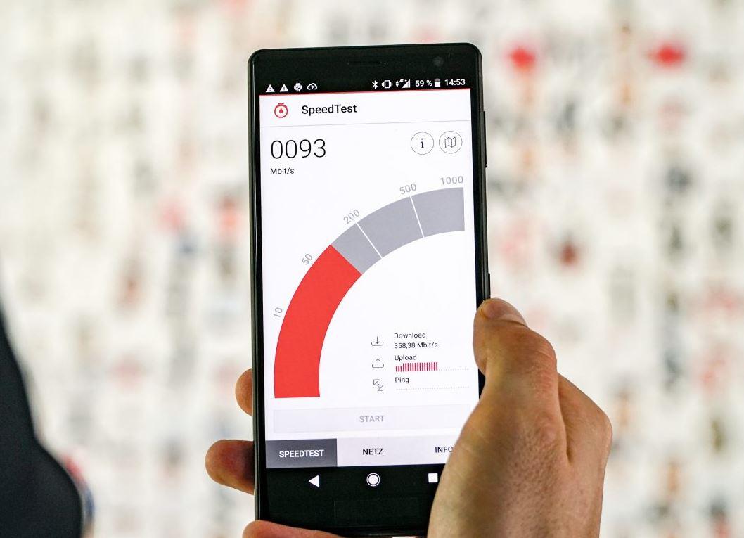 Vodafone Upload Speed Test