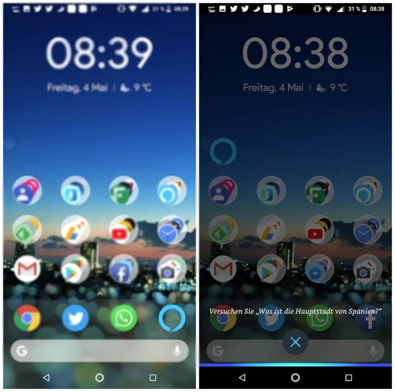 Alexa Widget Android Screenshots