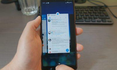 Android P Gestensteuerung Header