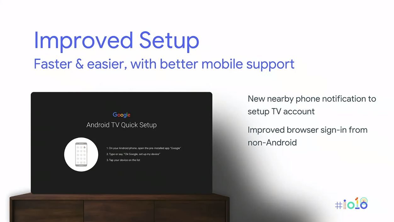 Android TV P Setup