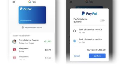 PayPal Google Pay