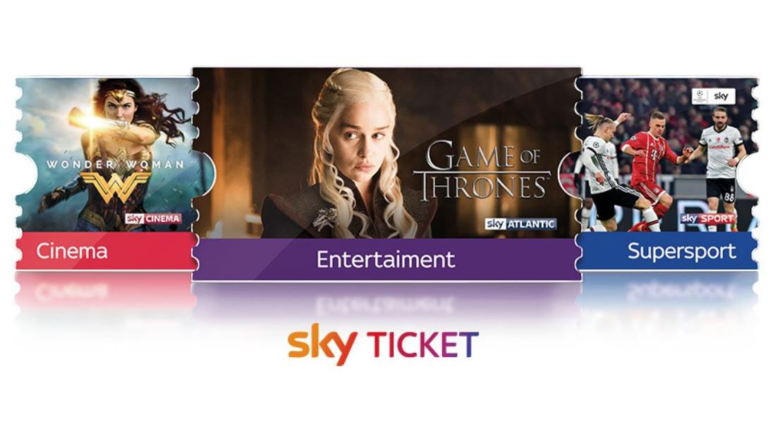Relaunch: Neue Optik für Sky Ticket