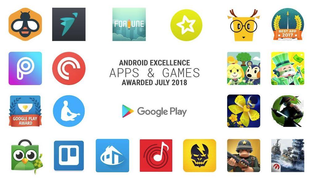 Die besten Android Apps und Spiele Juli 2018