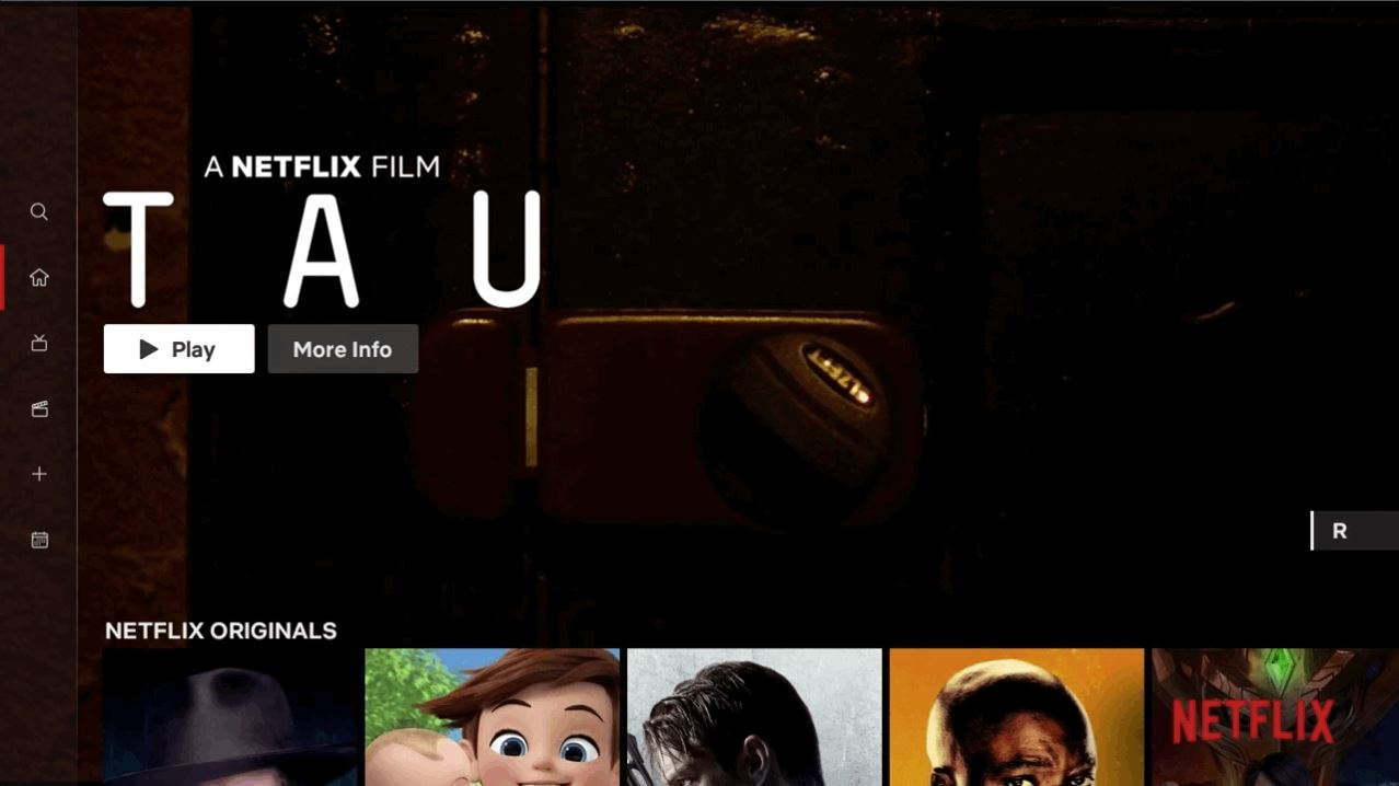 Netflix beginnt mit Umstellung auf neue TV-Nutzeroberfläche
