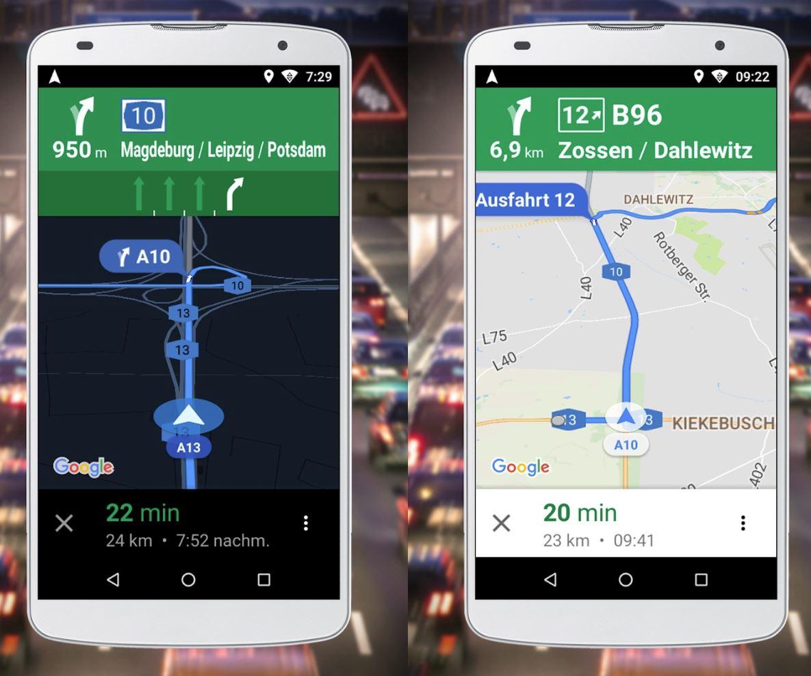 Google Maps Go Navigation