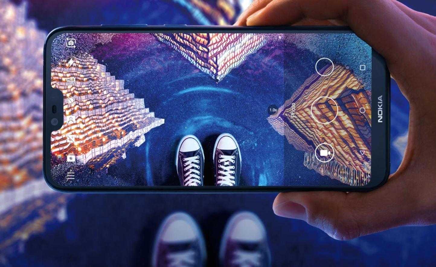 Nokia 6.1 Plus Header
