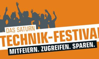 Saturn Technik-Festival Header