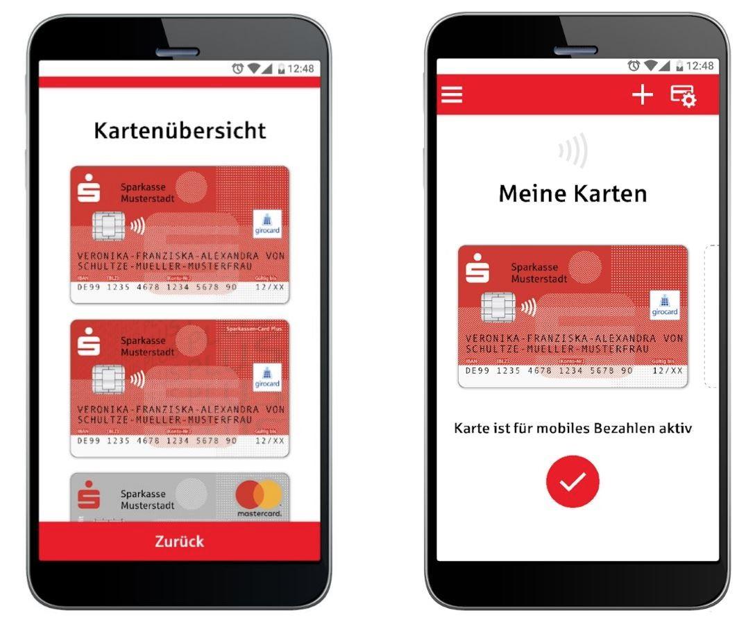 Sparkasse mobiles Bezahlen Android App