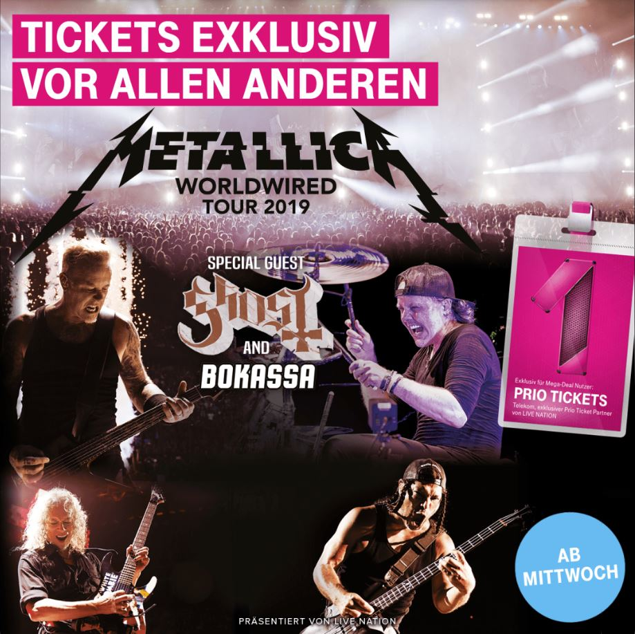 Telekom Mega-Deal Metallica