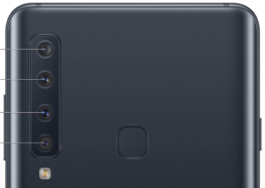 Samsung Galaxy A9 Quad Kamera Leak
