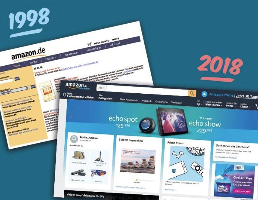 Amazon 20 Jahre Deutschland