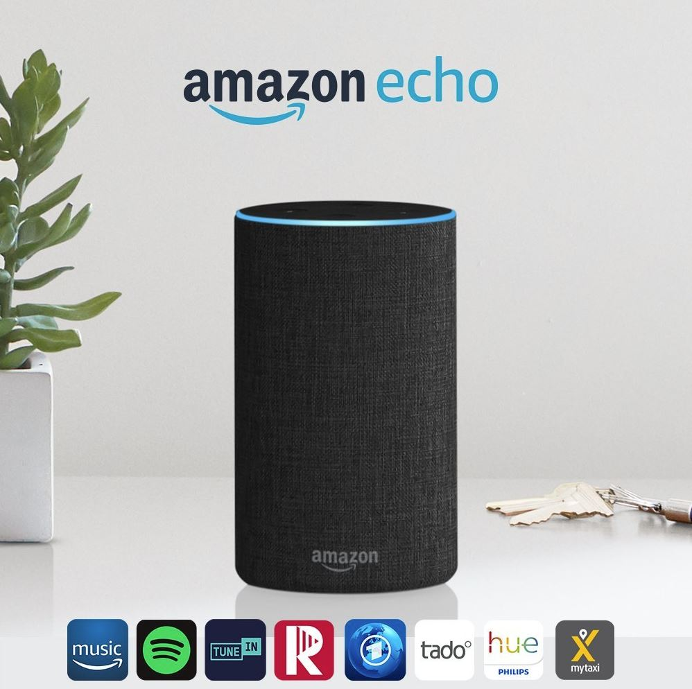 Amazon Echo 2. Generation Header