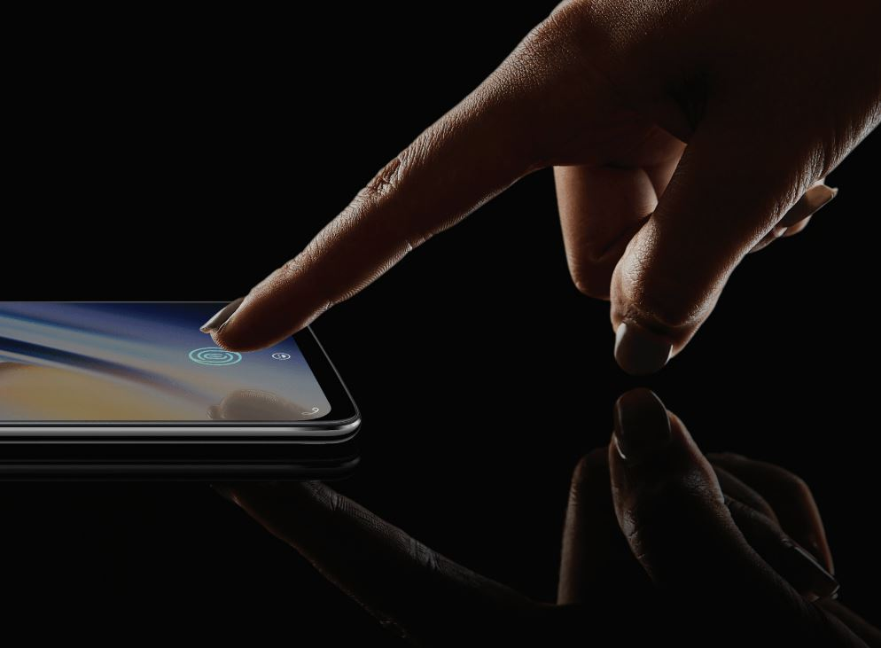 OnePlus 6T Fingerabdrucksensor im Display Header