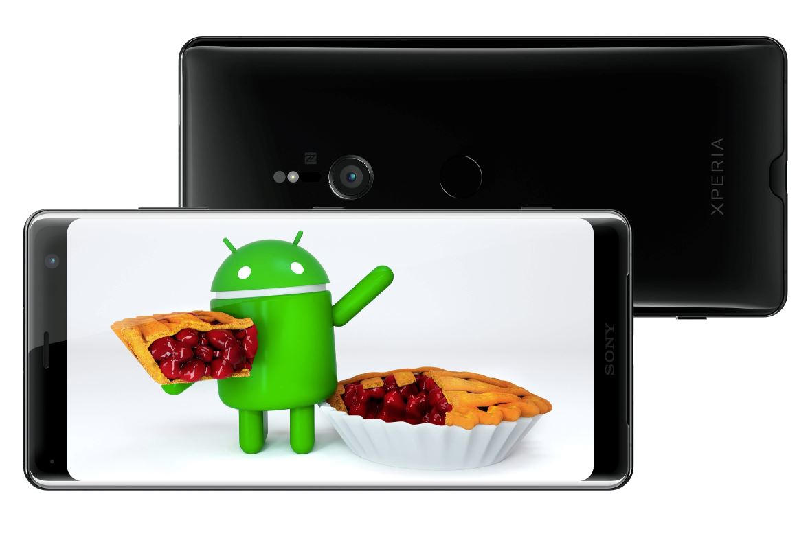 Sony Xperia Android 9 Pie Header