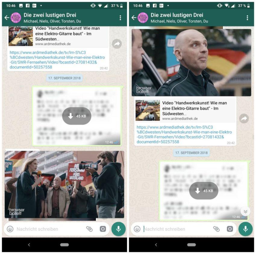 WhatsApp: Bild-in-Bild soll jetzt für alle möglich werden