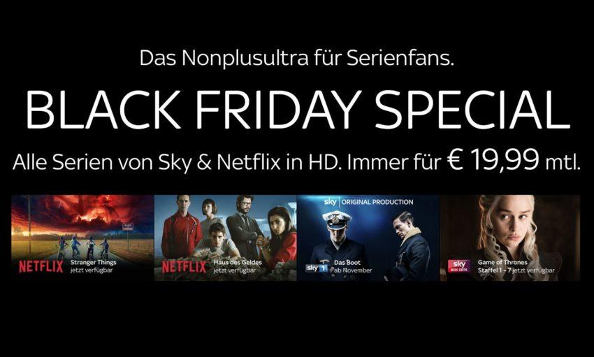 Sky Q + Netflix: Neue Angebote sind verfügbar