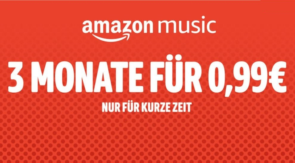 Amazon Music Unlimited 99 Cent