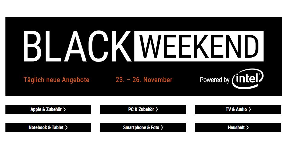 Cyberport Black Weekend November 2018